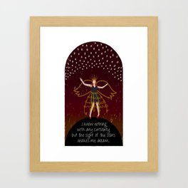Star Dreaming Framed Art Print