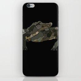 Mellifluous Crocodiles iPhone Skin
