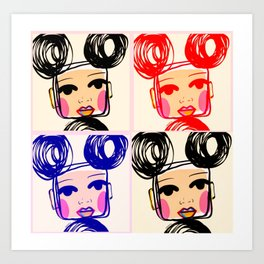 Cris Art Print