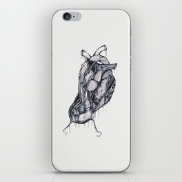 my heart comes undone (color) iPhone Skin