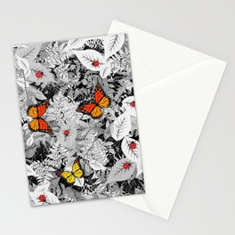 Bugs and foliage Stationery Cards