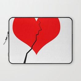 Broken Heart Laptop Sleeve