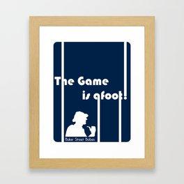 Baker Street Babes: The Game is Afoot! Framed Art Print