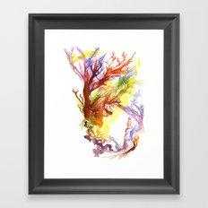 Volcanic Tango Framed Art Print