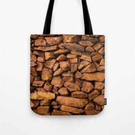 The Rock Wall  Tote Bag