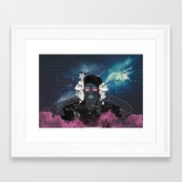 charli xcx Framed Art Prints featuring CHARLI XCX by Lucas Eme A