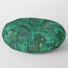 malachite Floor Pillow