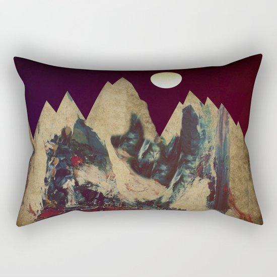 Cardboard Mountains Rectangular Pillow