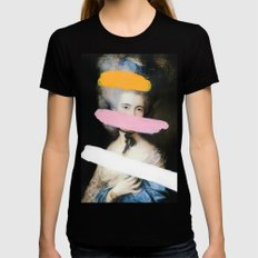 Brutalized Gainsborough 2 Black X-LARGE Womens Fitted Tee