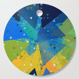 Spring Confetti Cutting Board