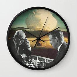 Political Pawns Wall Clock