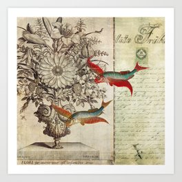 Fish of a Feather Art Print