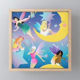 Fairy Dreamland Framed Mini Art Print