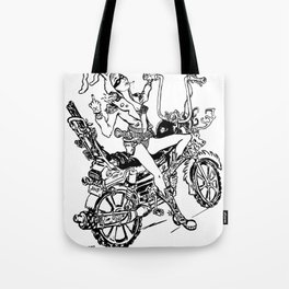 JESSICA'S HALLOWEEN PARTY Tote Bag