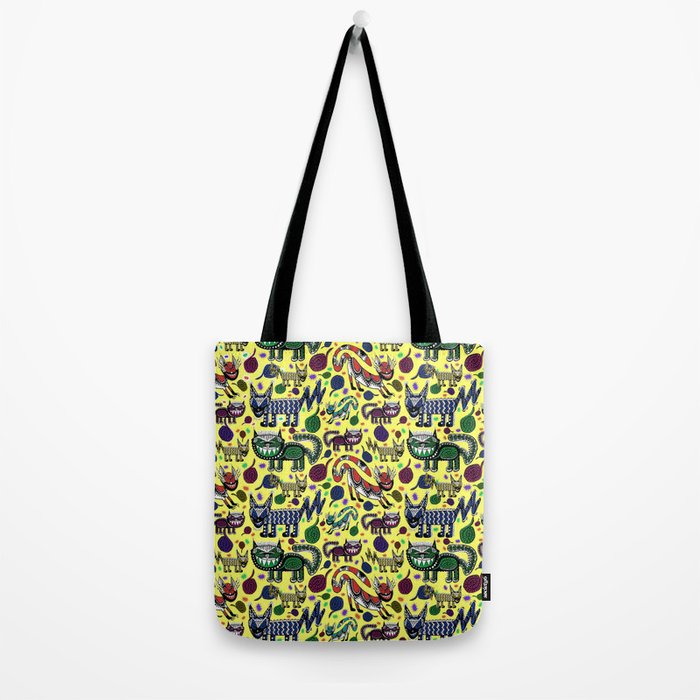 SNEAKY CATS Tote Bag