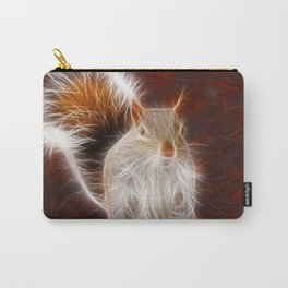 Fractalius Grey Squirrel Carry-All Pouch