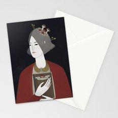 Mushroom hunter Stationery Cards