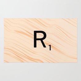 Scrabble Letter R - Large Scrabble Tiles Rug