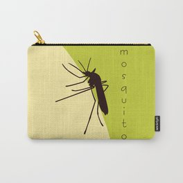 Biting mosquito print Carry-All Pouch