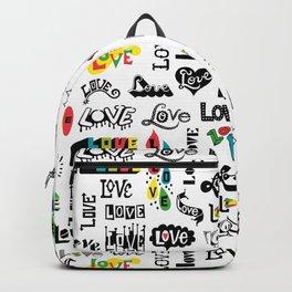 More Love Words Backpack