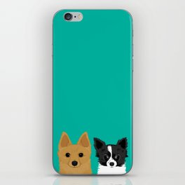Pippen & Sooty - Teal iPhone Skin
