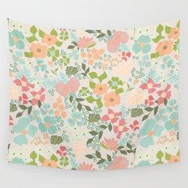 Spring Garden Wall Tapestry
