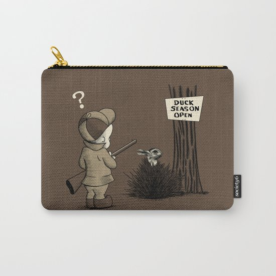 Duck or rabbit? Carry-All Pouch