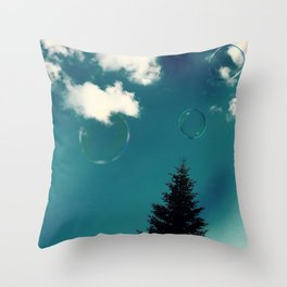 Expect Miracles Photography Throw Pillow
