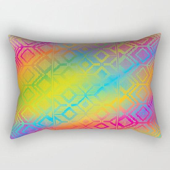inca rainbow Rectangular Pillow