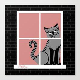 Poppyseedpasta, House of Cats Canvas Print