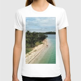 Tropical Beach Vibes in Fiji Islands T-shirt
