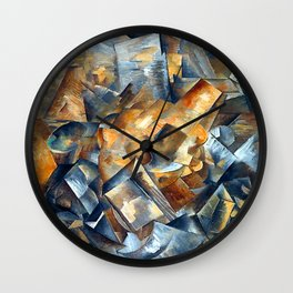 Georges Braque Still Life with Metronome Wall Clock