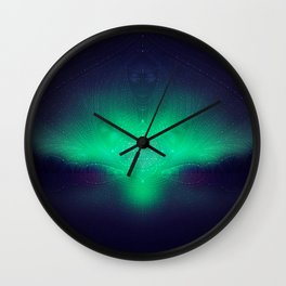 dreaming gate Wall Clock