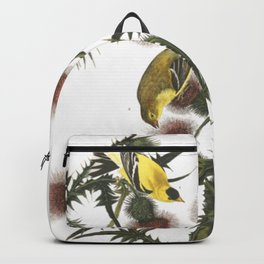 Goldfinch And Thistle Backpack
