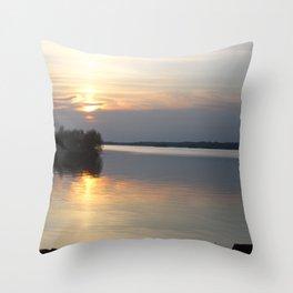 Sunset, Lough Derg - Ireland Throw Pillow