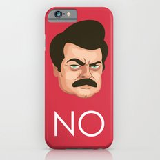 Motivation by Ron Swanson iPhone 6s Slim Case
