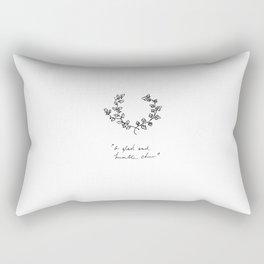 A Glad And Humble Cheer Rectangular Pillow