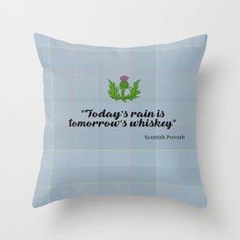 scottish proverb Throw Pillow