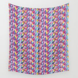 Brushstroke Fortunes I (Abstract Painting) Wall Tapestry