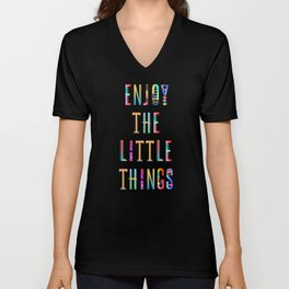 Enjoy the little Things Unisex V-Neck
