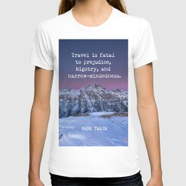 Mark Twain quote 7 T-shirt