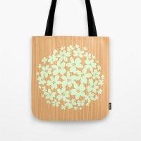 hawaiian Tote Bags featuring Hawaiian Orange by Endless Summer