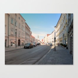 Summer in the city II | architectural photography Canvas Print