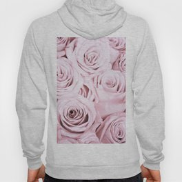 Pink Roses Flowers - Rose and flower pattern Hoody