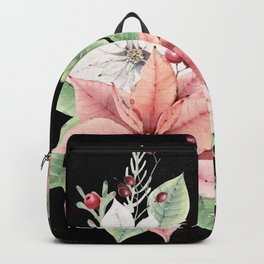 Poinsettia Backpack