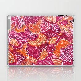 ML- Pink + Orange Abstract Laptop & iPad Skin