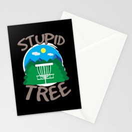 Disc Golf  Stationery Cards