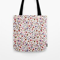 constellations Tote Bags featuring Constellations by Ninola