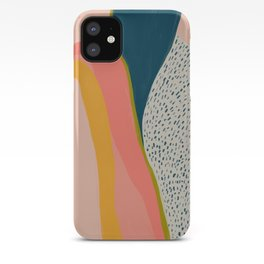Colorful Abstract Textures iPhone Case