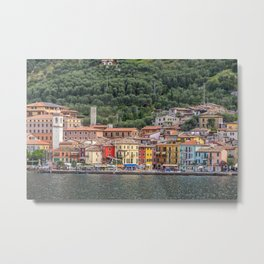 A village on Lake Garda, Italy Metal Print